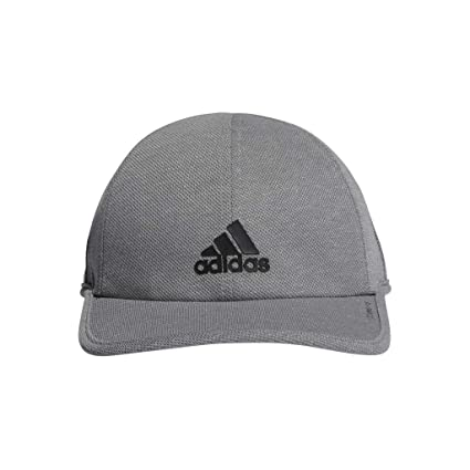 d9e59a8a303dba adidas Men's Superlite Pro Relaxed Adjustable Performance Cap, Grey/Black,  One Size