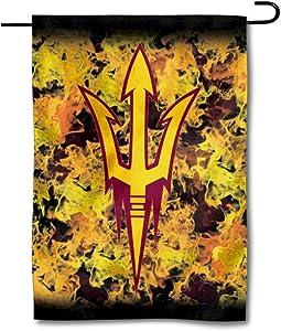 College Flags & Banners Co. ASU Sun Devils Flames Garden Flag