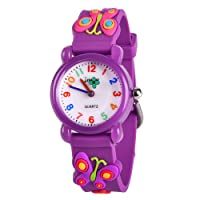 Kids Watch, 3D Cartoon Waterproof Watch for Girls Boys Age 3-8 - Gifts for Boys and Girls