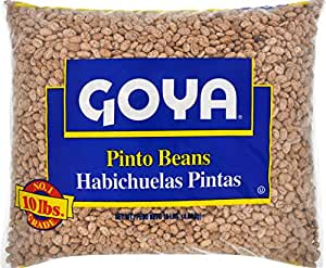 Goya Foods Dry Pinto Beans, 10 Pound