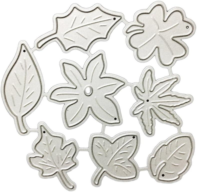 8/pcs//lot de feuilles de m/étal de coupe Dies Pochoirs DIY Scrapbooking gaufrage D/écor pour la cr/éation de cartes