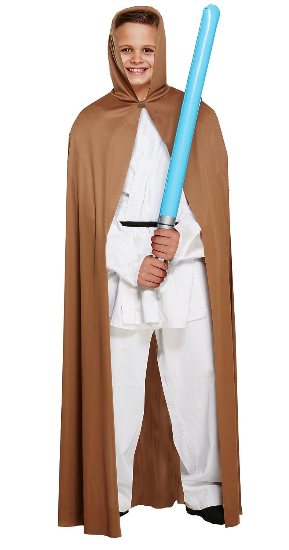 infantil Jedi Estilo Star Wars Marrón Capa - Mediano 7-9 ...