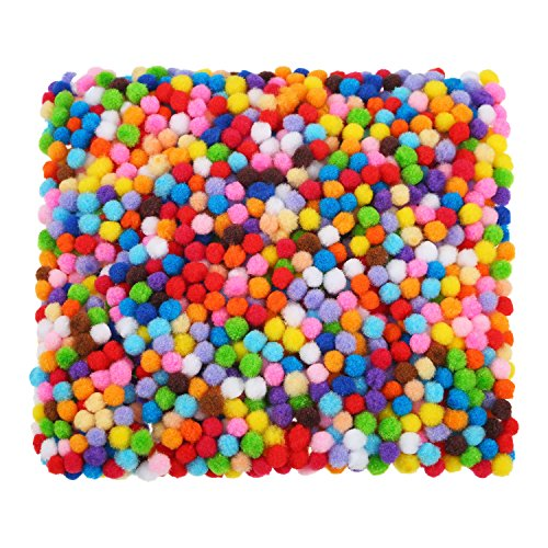 6 mm Assorted Pom Poms