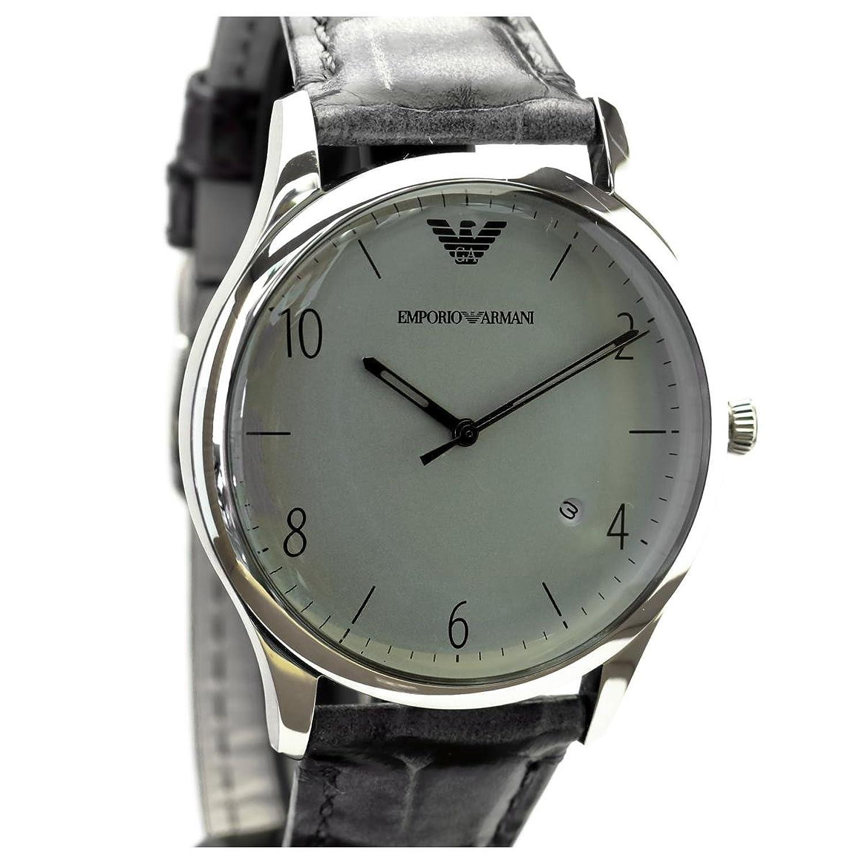 Armani Herren-Armbanduhr BETA Analog Quarz Leder AR1880