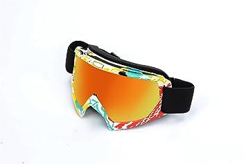 Ciclismo gafas, spohife UV anti scratch a prueba de viento unisex ajuste gafas para motocicleta Escalada Deportes al aire libre de conducción, ...