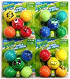koosh gun - Nerf Koosh Galaxy Ball Refill Pack Bundle - 4 Pack (20 Balls Total) Asorted Styles