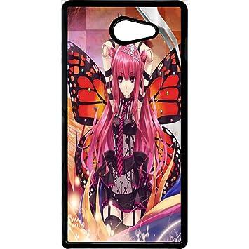 Carcasa Sony Xperia M2 Rosa niña manga: Amazon.es: Electrónica