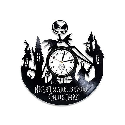 kovides the nightmare before christmas vinyl wall clock gift kids the nightmare before christmas vinyl clock