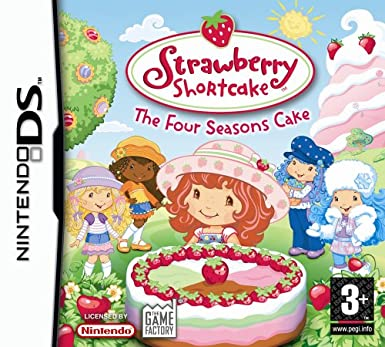 Strawberry Shortcake: The Four Seasons Cake (Nintendo DS)