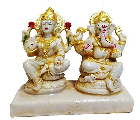 7000bef8e529 Buy Fabzone Lord Laxmi Ganesha Goddess Lakshmi God Ganpati Idol ...