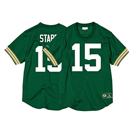 cheap for discount 0ecc0 9a2c1 Amazon.com : Mitchell & Ness Bart Starr Green Bay Packers ...