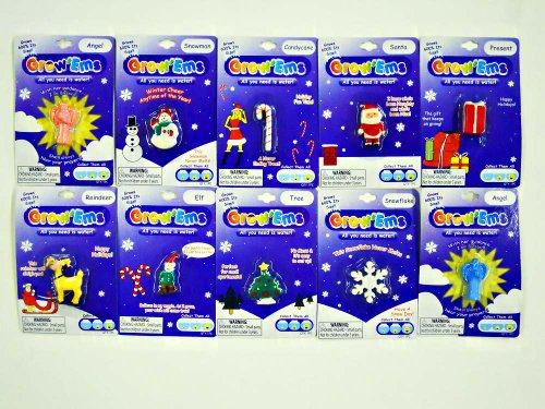 Grow'Ems - Water Growing Toy - Holiday Theme - 3 ()