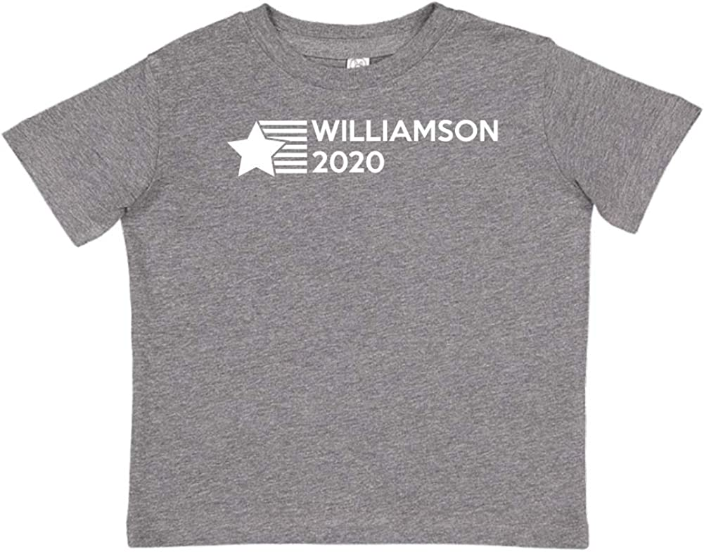 Star//Stripes Mashed Clothing Williamson 2020 Presidential Election 2020 Toddler//Kids Short Sleeve T-Shirt