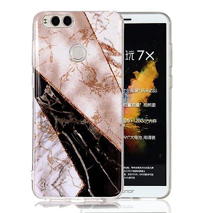 Amazon.com: Funda Huawei Mate SE, Huawei Honor 7X, Ranyi ...