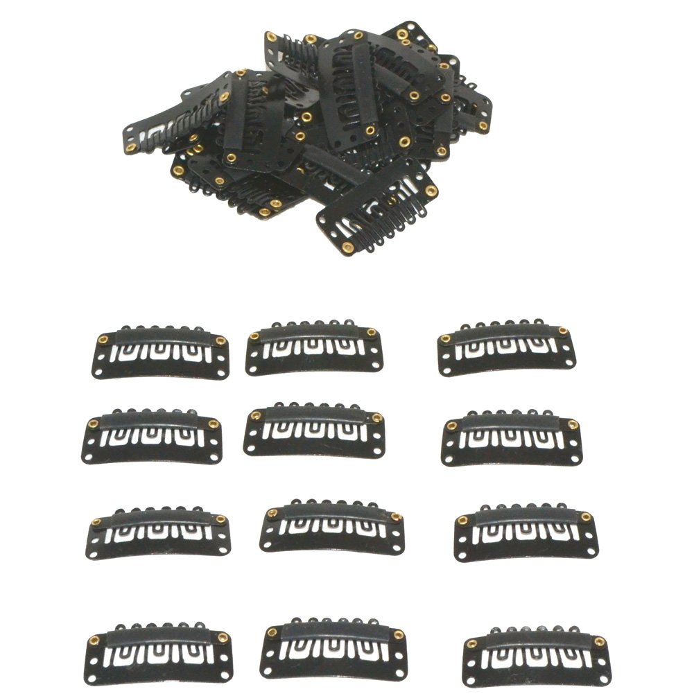 Amazon Janet Collection Selfit Clip 10pcs Hair Clips For Hair