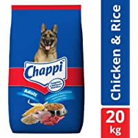 Chappi Adult Dry Dog Food, Chicken & Rice - 20 kg