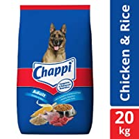 Chappi Adult Dry Dog Food, Chicken & Rice - 20 kg Pack