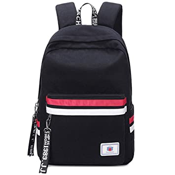 Pelisy Vintage School Backpack Womens College Casual Bag Canvas Rucksack  Laptop Backpack 15.6 inch for Girls cbc93c09bd
