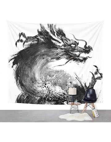 Arazzo da Parete,Cartone Animato Balena Mare Animale Indiano Stile Bohemien Stampa Tessuto Arazzo Gotico Psichedelico Mandala Divano Formato Coperta per Casa Corridoio Soggiorno Camera da Letto A