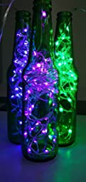 Color Changing String Lights With Remote : Amazon.com : Homestarry LED String Lights, Battery Powered Multi Color Changing String Lights ...