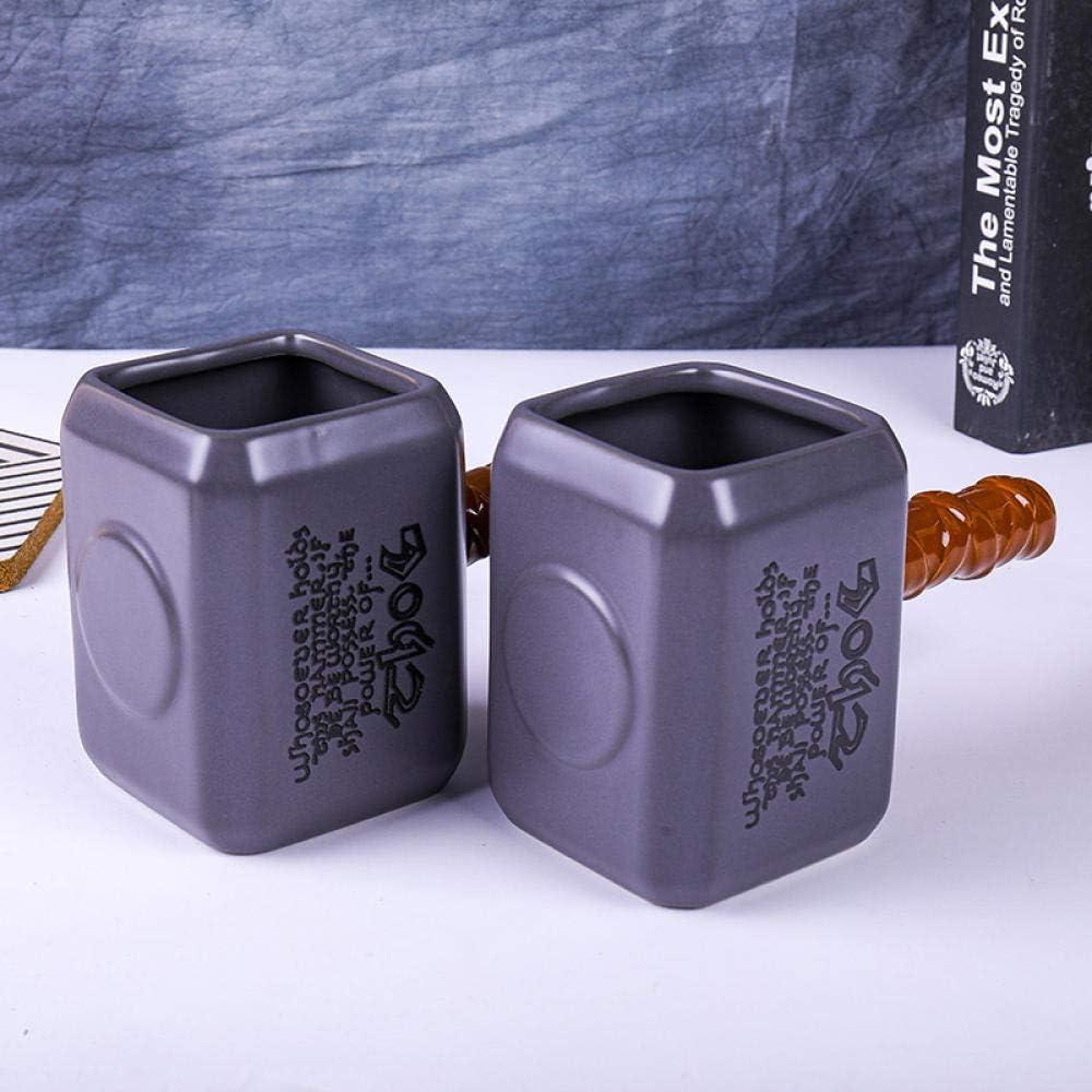 Tazas De Caf/é De Cer/ámica Thro Tazas Y Tazas De Martillo Thor Cool Drinkware-1