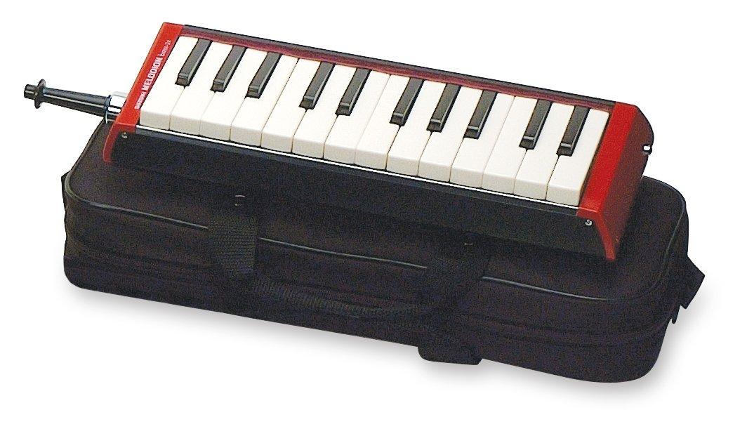 Suzuki Musical Instrument Corporation B-24 Bass Melodion with Case - Mouthpiece