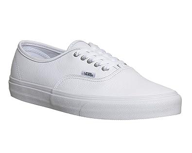 Vans Authentic Leather White Mono - 5 UK  Amazon.co.uk  Shoes   Bags 8d131cc950