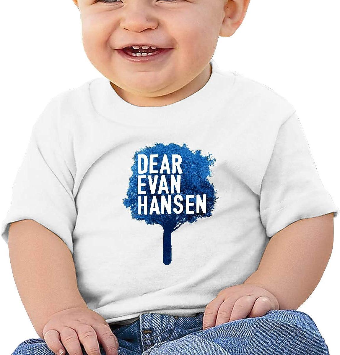 Dear Evan Hansen Short Sleeve Trottie T Shirts Cotton Round Collar Tee Shirt