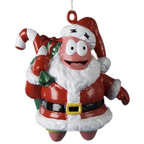 Spongebob Squarepants Patrick Star as Santa Christmas Ornament - Amazon.com: Spongebob Squarepants Patrick Star As Santa Christmas