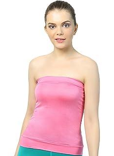 e6aa722042 Familina Bralette Bra Sexy Tube Top Camisole for Women Girl Ladies Female  Solid Colour Non-