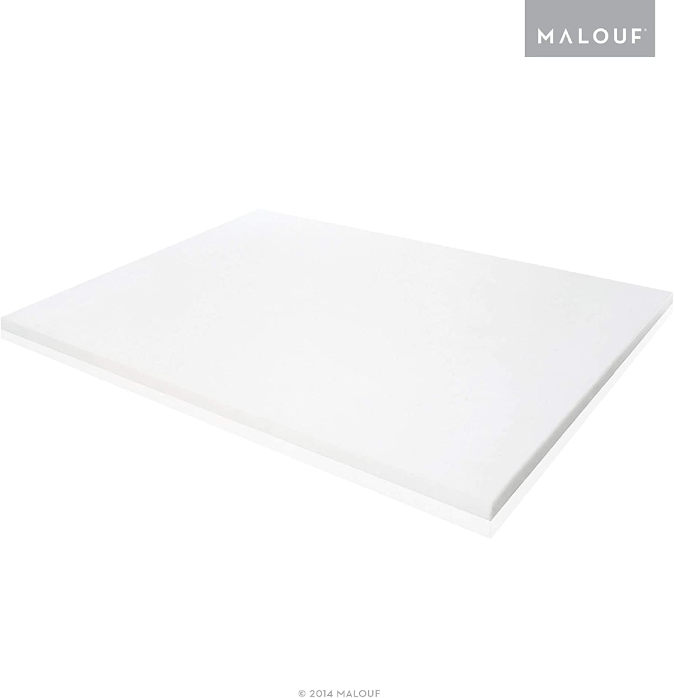 ISOLUS 2 Inch Ventilated Memory Foam Mattress Topper - 3 Year U.S. Warranty - King