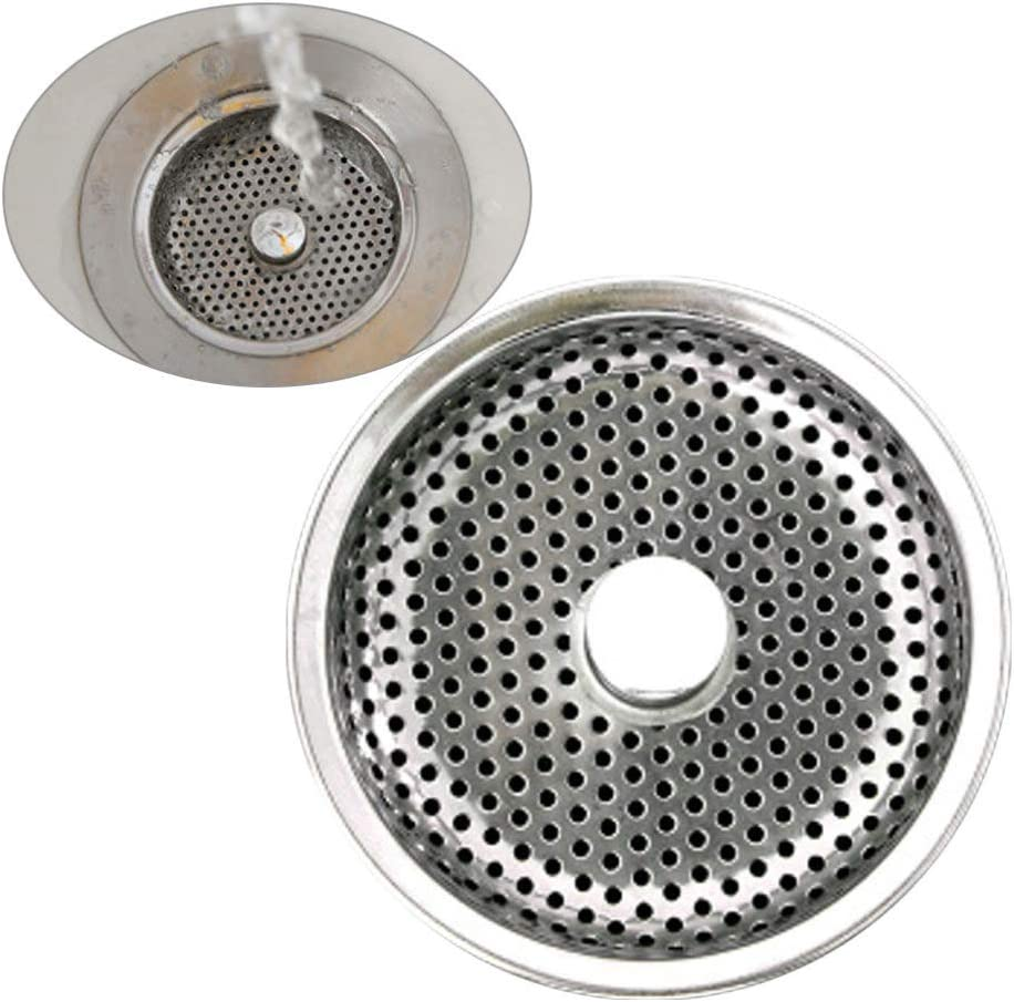 TOPBATHY scarico lavello cestello tappo filtro lavello cucina in acciaio inox fori a rete