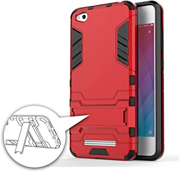 German Tech Cool Shield - Funda híbrida para Xiaomi Redmi 4A ...