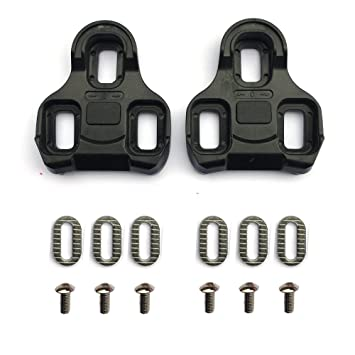 1a574a75e Look Keo compatible pedal cleats replacement set 0° float  Amazon.co.uk   Sports   Outdoors