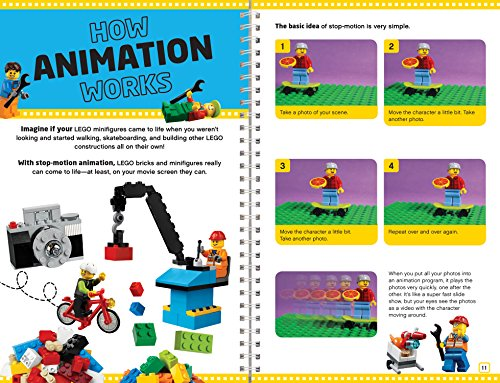 613B1QX2%2BCL - Klutz Lego Make Your Own Movie Activity Kit