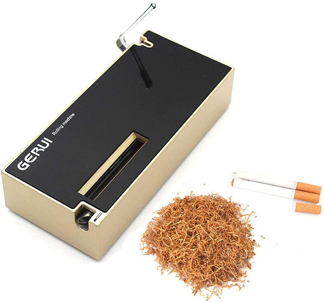 SROMEZ Máquina Electrica para Rellenar Tubos de Tabaco Enrollar Cigarillos Fabricante de la Máquina del Cigarrillo de DIY, el Mejor Regalo de los Hombres