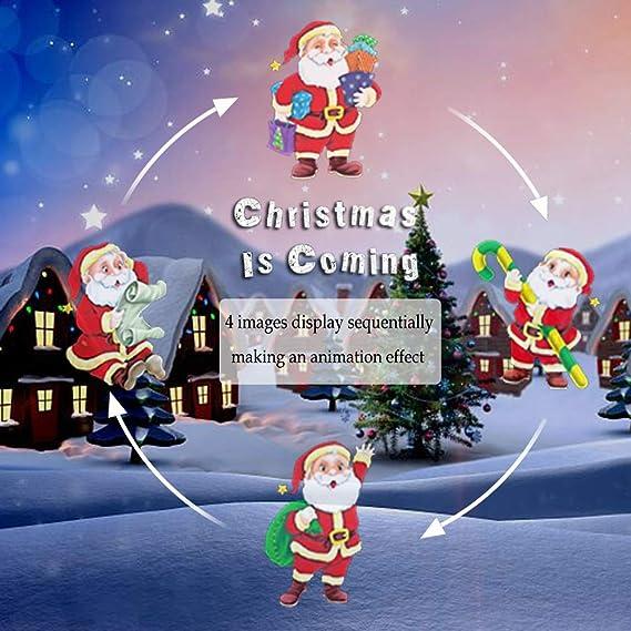 Weihnachtsbeleuchtung Projektor Lampe, Kinder Indoor Urlaub ...