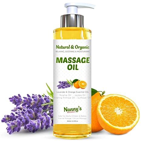 Aceite Para Masaje Natural y Orgánico | Aceites Esenciales ...