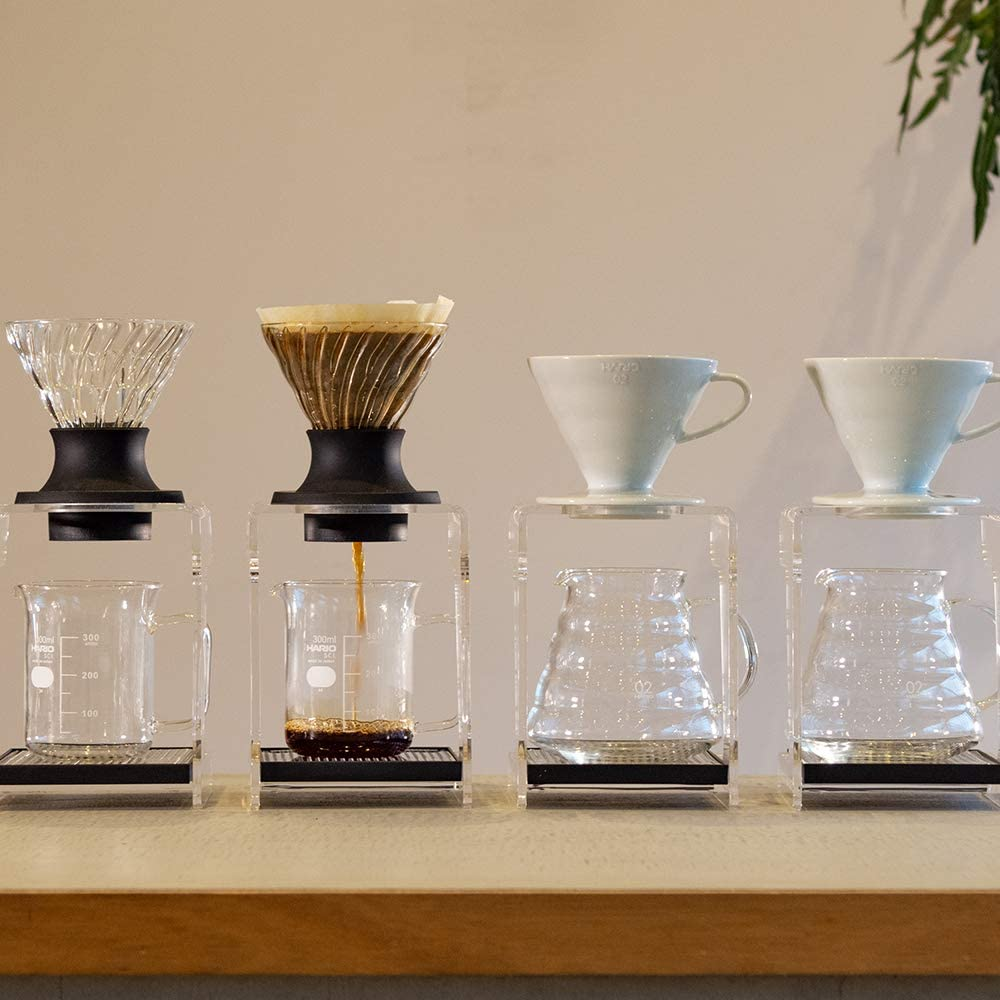 HARIO Dripper black for 1 to 4 servings of coffee powder into hot water and extract dripper