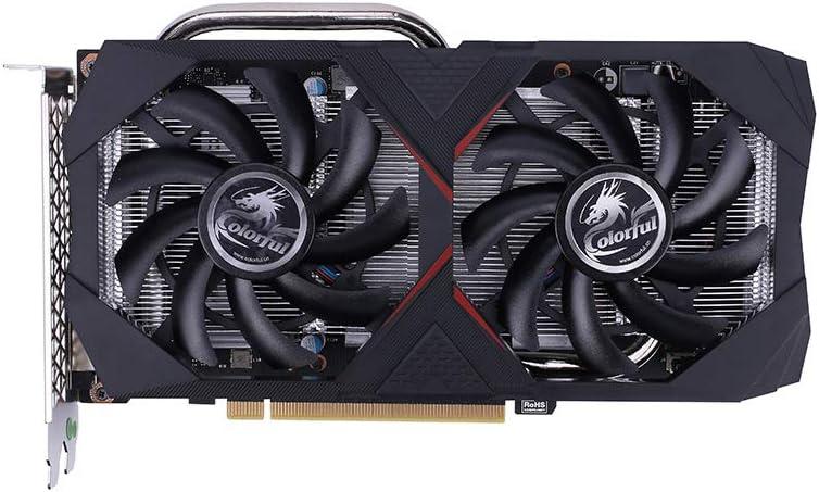 Docooler カラフルコンピュータグラフィックカード GeForce GTX 1660 6G グラフィックカード