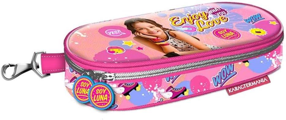 Soy Luna Estuche portatodo Plano, Color Rosa, 21 cm (Karactermanía 32281): Amazon.es: Juguetes y juegos