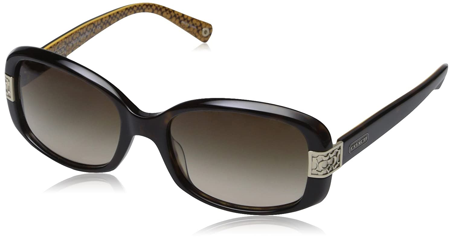 73aac5bf97a real coach hc 8003 l004 lillian 5033 13 dark tortoise womens sunglasses  amazon clothing b2556 bcd95