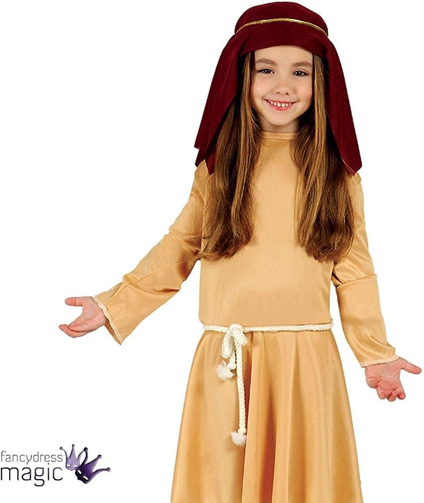 Disfraz de pastorcita infantil 7-9 años: Amazon.es: Ropa y accesorios