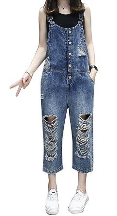 d49c5eb243 Amazon.com: XiaoTianXin-women clothes XTX Womens Summer Ripped ...