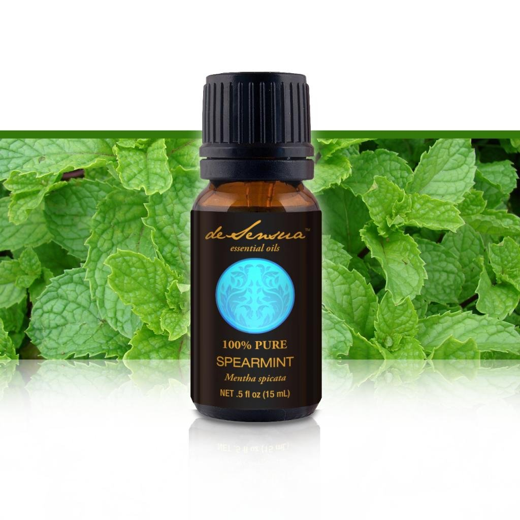 Spearmint Essential Oil, 100% Pure Essential Oil - Proven Purity for Professional Aromatherapists. Half Ounce (15 mL)