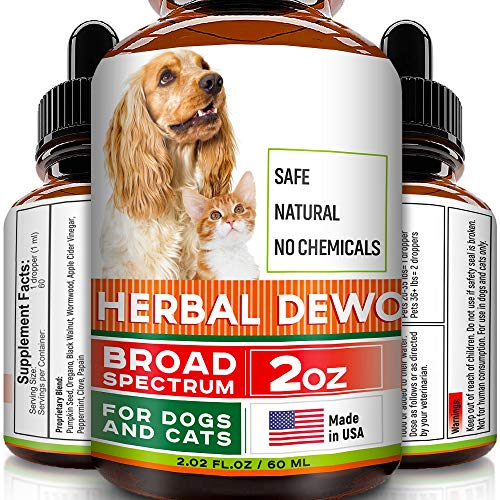 FurFinds Herbal Cleanse fot Cats and Dogs – Homeopathics Parasites and Toxins for Dogs and Cats – All Breeds and Size – Puppy & Kitten