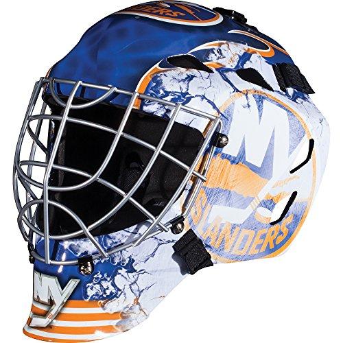 fan products of Franklin Sports GFM 1500 NHL New York Islanders Goalie Face Mask