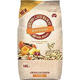 Arnold's Farm澳诺滋农场 5种水果麦片 澳洲进口营养即食热带水果颗粒果仁谷物早餐1kg(澳大利亚进口)