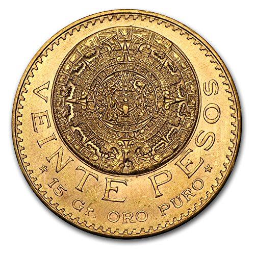1921 MX - 1947 Mexico Gold 20 Pesos AGW .4823 (Random Year) Gold Very Good