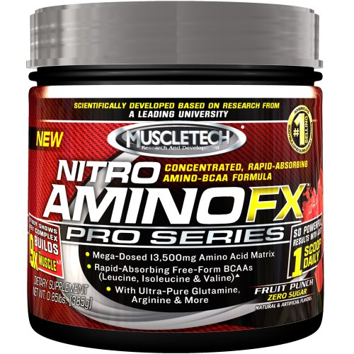 Nitro Amino Muscletech Fx Pro Series, Fruit Punch, 0,85 Euro